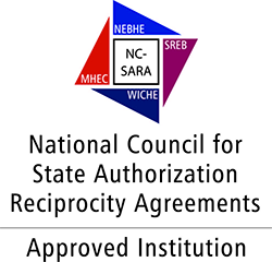 National Council for State Authorization Reciprocity Agreements Seal